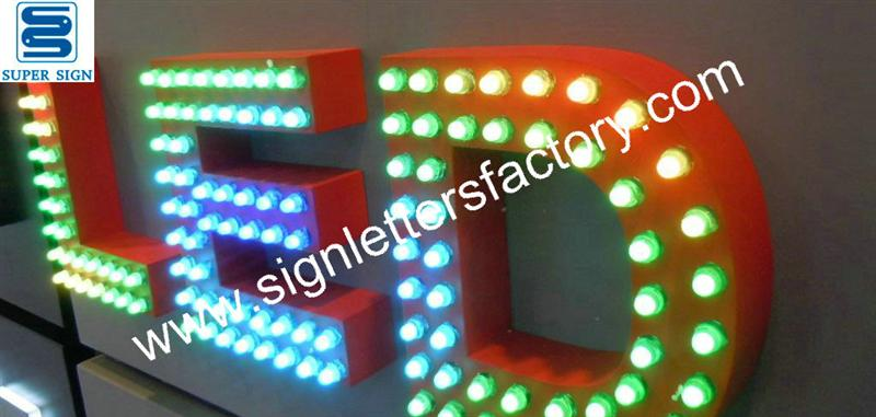 led letter sign rgb led sign letters