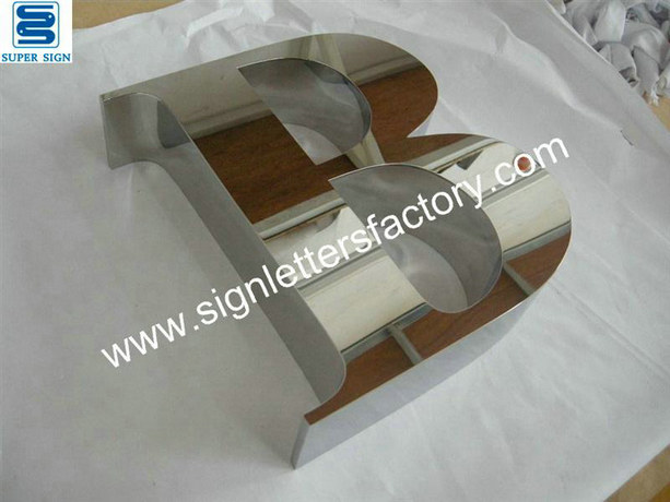 polished stainless steel sign letters 01