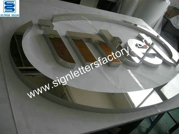 polished mirror stainless steel letters 04
