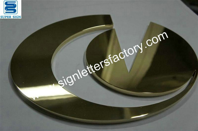 polished brass logo 13