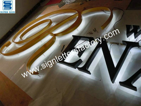 halo lit LED letters 05