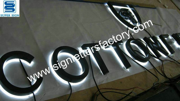 halo illuminated letter signage 06