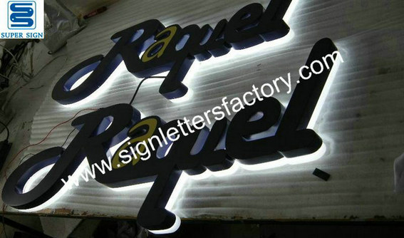 halo illumination LED sign letters 07