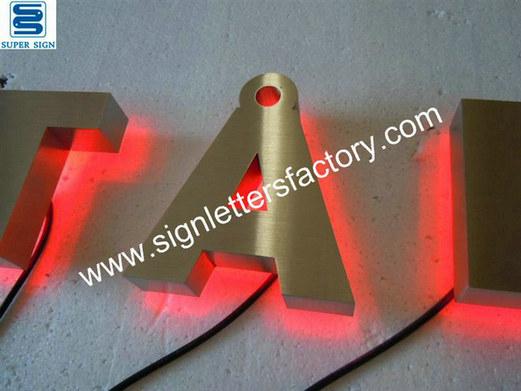 corona LED sign letters 11