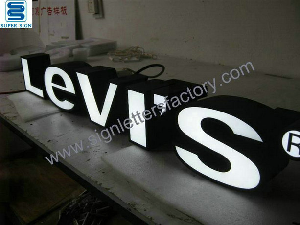 frontlit LED sign letters 03