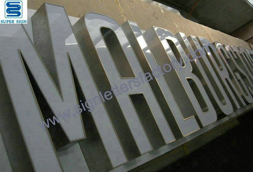 frontlit LED box letters 05