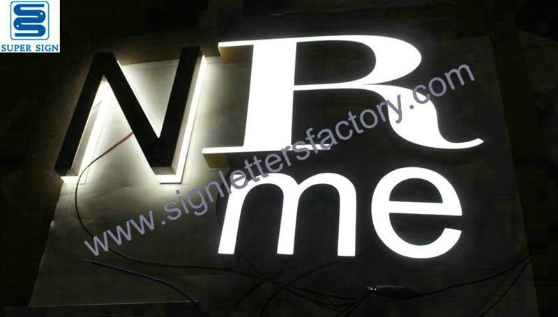 front illumination LED letter sign 06