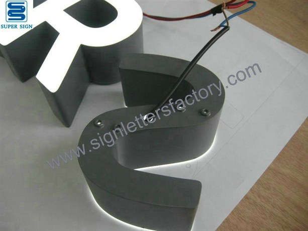 front illumination LED letters sign 10