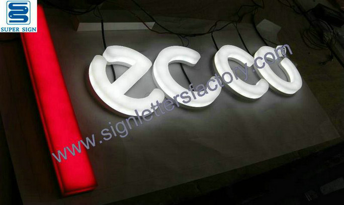 face illumination LED sign letters 11