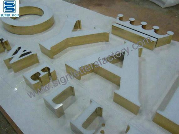 frontlit LED box letters signage 16