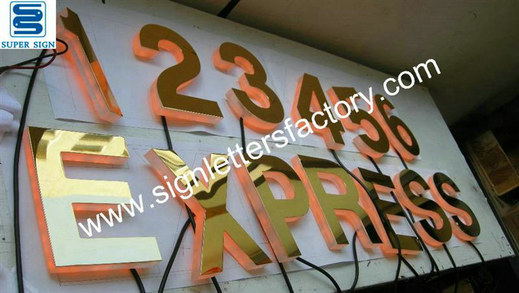 edgelit LED sign letters 04