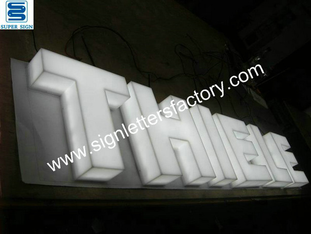 acrylic LED sign letters 01