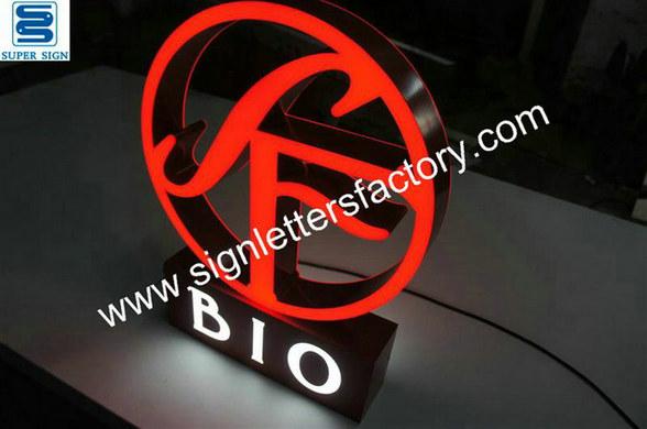 custom double-sided LED sign 02
