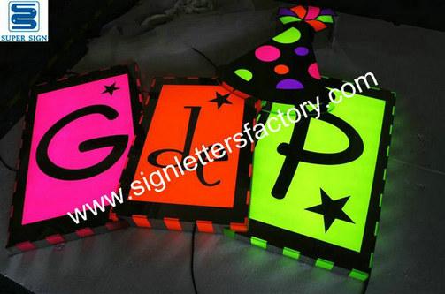 custom LED company sign 03