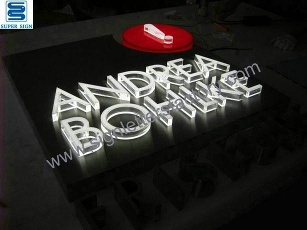 custom LED lightbox sign 07