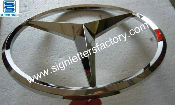 3D stainless steel auto logo 02
