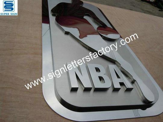 custom stainless steel sign 07