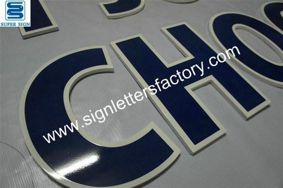 painted acrylic lettering sign 03
