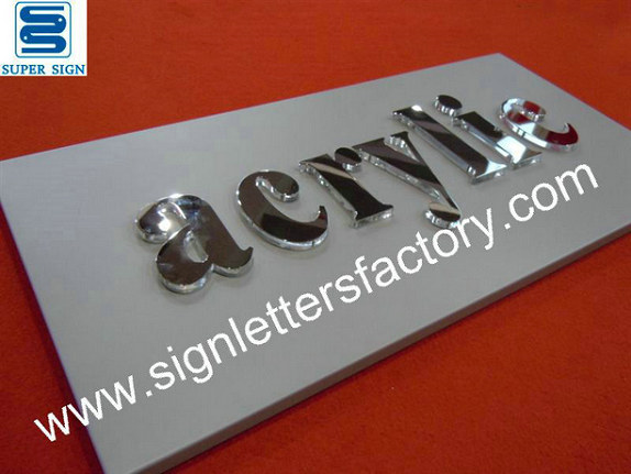 laminated acrylic letter sign 06