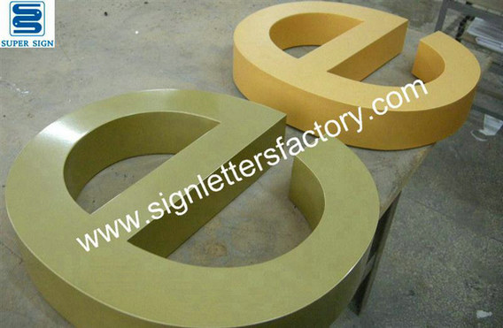 powder coating aluminum letter sign 05