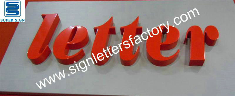 painted stainless steel letters 01