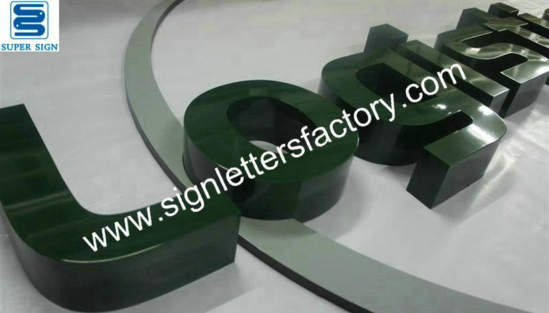 painted stainless steel letter signage 05