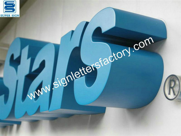 painted metal sign letters 07
