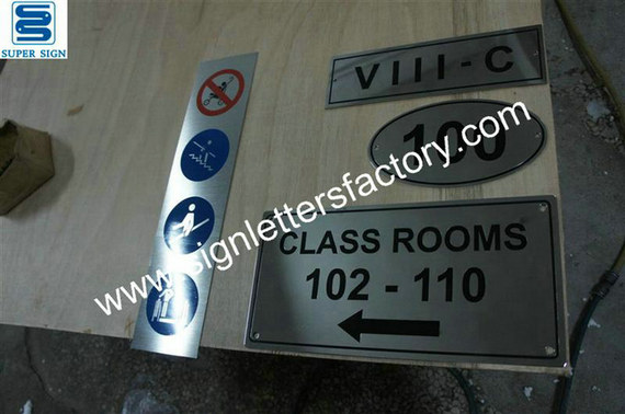 etched stainless steel signboard 03