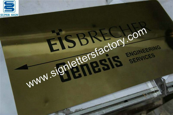 engraved and etched brass signboard 04