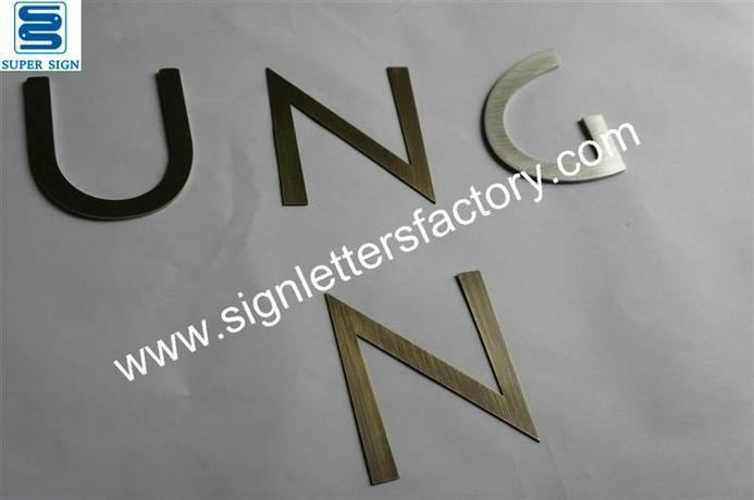bronze sign letters 03