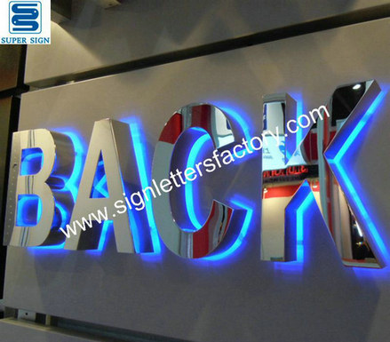 halo illumination LED sign letters 01